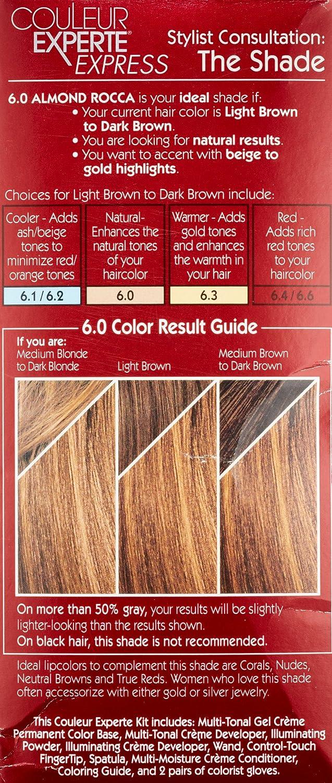 Buy L\'Oreal Paris Couleur Experte Express Hair Color 6 Light Brown ...