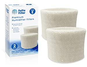 Fette Filter - Humidifier Wicking Filters Compatible with Honeywell HC-14V1, HC-14, HC-14N. Filter E. (2-Pack)