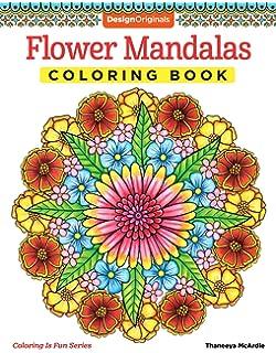 Flower Mandalas Coloring Book Is Fun Design Originals