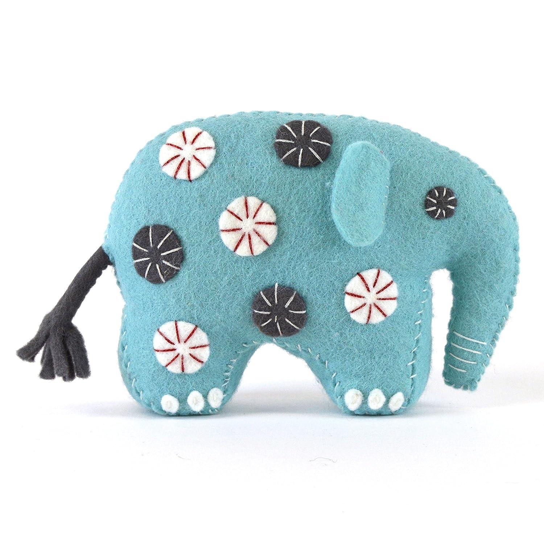 Corinne Lapierre Felt Elephant Sewing Craft Kit, Multi-Colour, One Size ELEPH1F