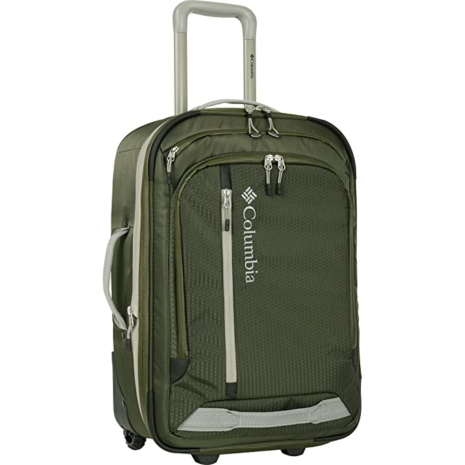 "Columbia Yahara 21"" Rolling Upright - Equipaje de Mano Adulto Unisex Verde Forest Verde Talla"