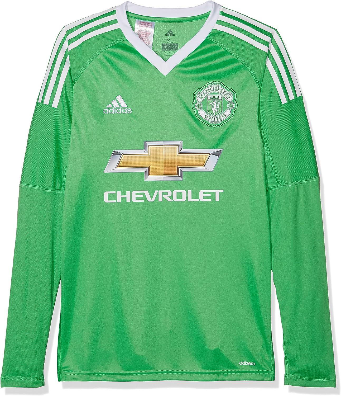 Adidas Children S Manchester United Away Replica Goalkeeper Jersey Amazon Co Uk Clothing