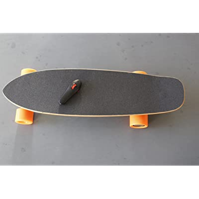 4UTK®Automatic Remote Control Electric Skateboard Complete, 27.2 Inch Professional Sports Skateboard, Retro Skateboard : Sports & Outdoors