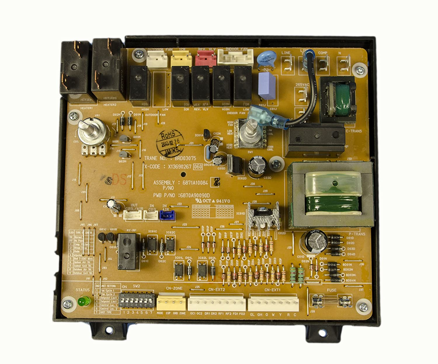 LG Electronics 6871A10084Z Air Conditioner Main PCB Assembly by LG B00AOG5ZGE
