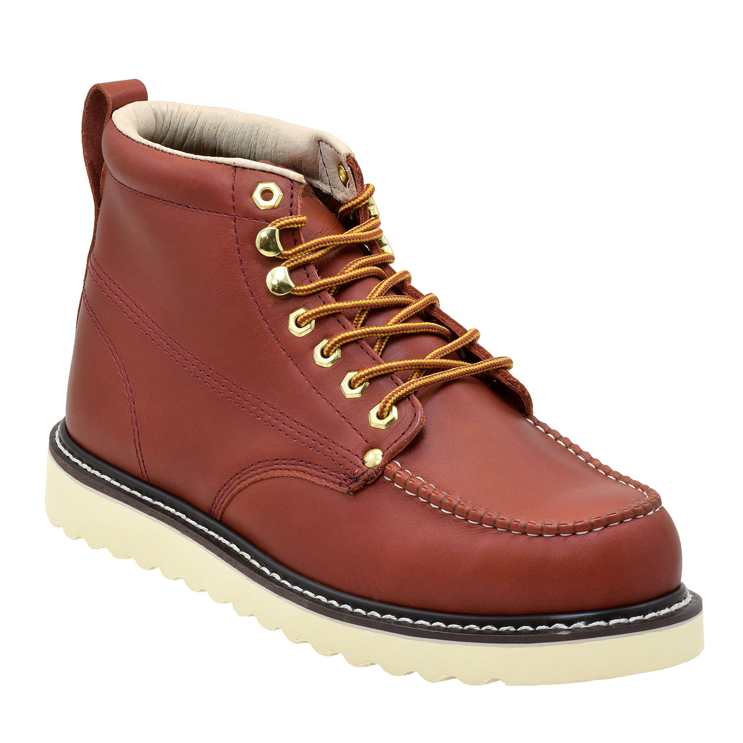 Golden Fox Men's Work Boots 6\