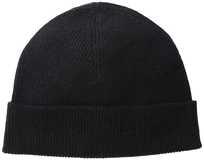 bfadce43d2c Phenix Cashmere Men s Half Cardigan Rib Knit Cuff Hat