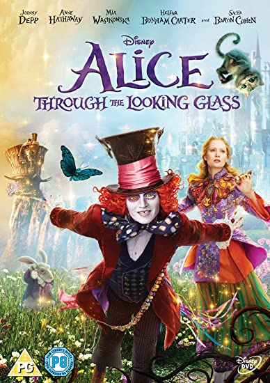 Alice Through The Looking Glass [WON'T WORK IN THE USA DVD] [REGION 2 PAL FORMAT]