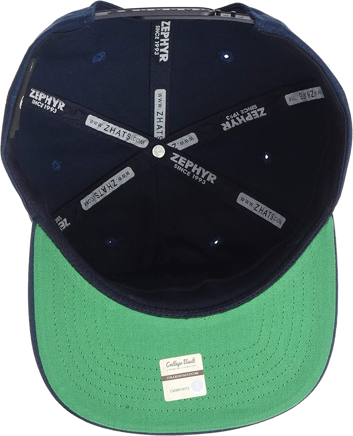 Zephyr NCAA Mens Archive Vault Collection Snapback Hat