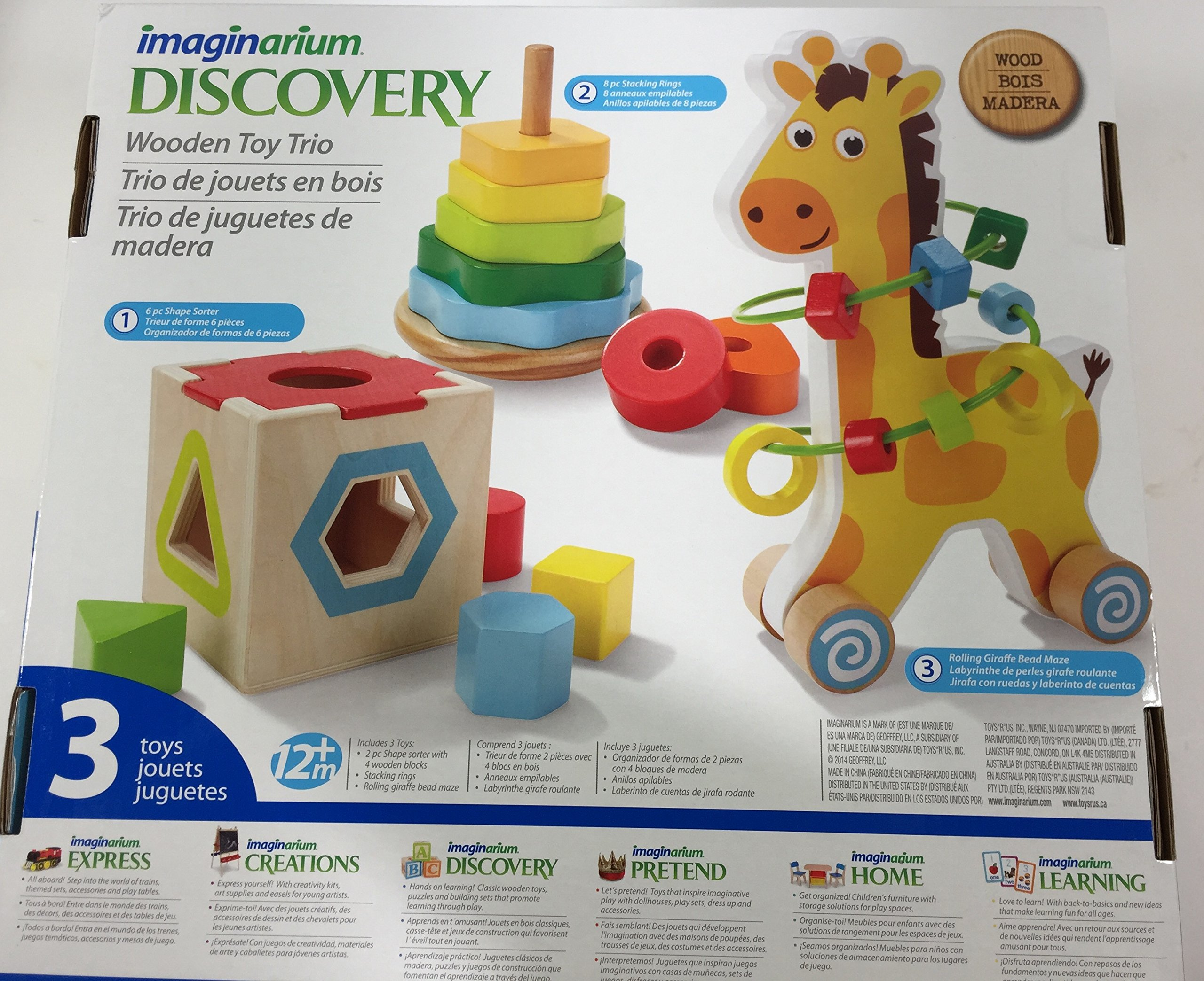 Baby Gear Blanket Toys R Us Imaginarium Giraffe Toy Set For