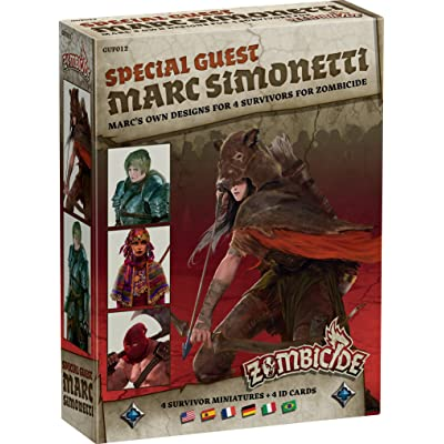 Zombicide: Black Plague Special Guest Marc Simonetti Board Game: Toys & Games