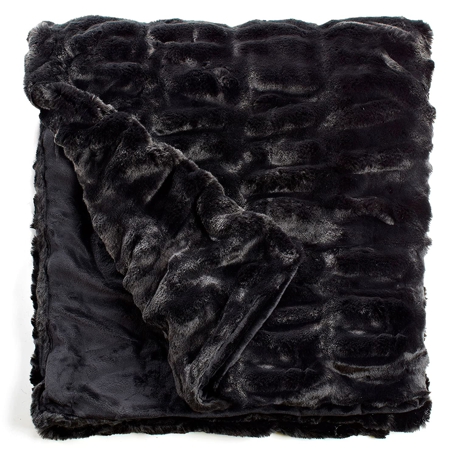 9d1b7d45746b Amazon.com  Fabulous Furs  Faux Fur Luxury Throw Blanket