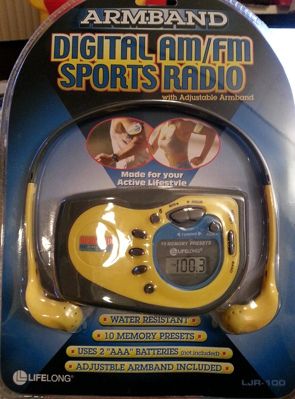 Digital Am/fm Sports Radio: Car Electronics