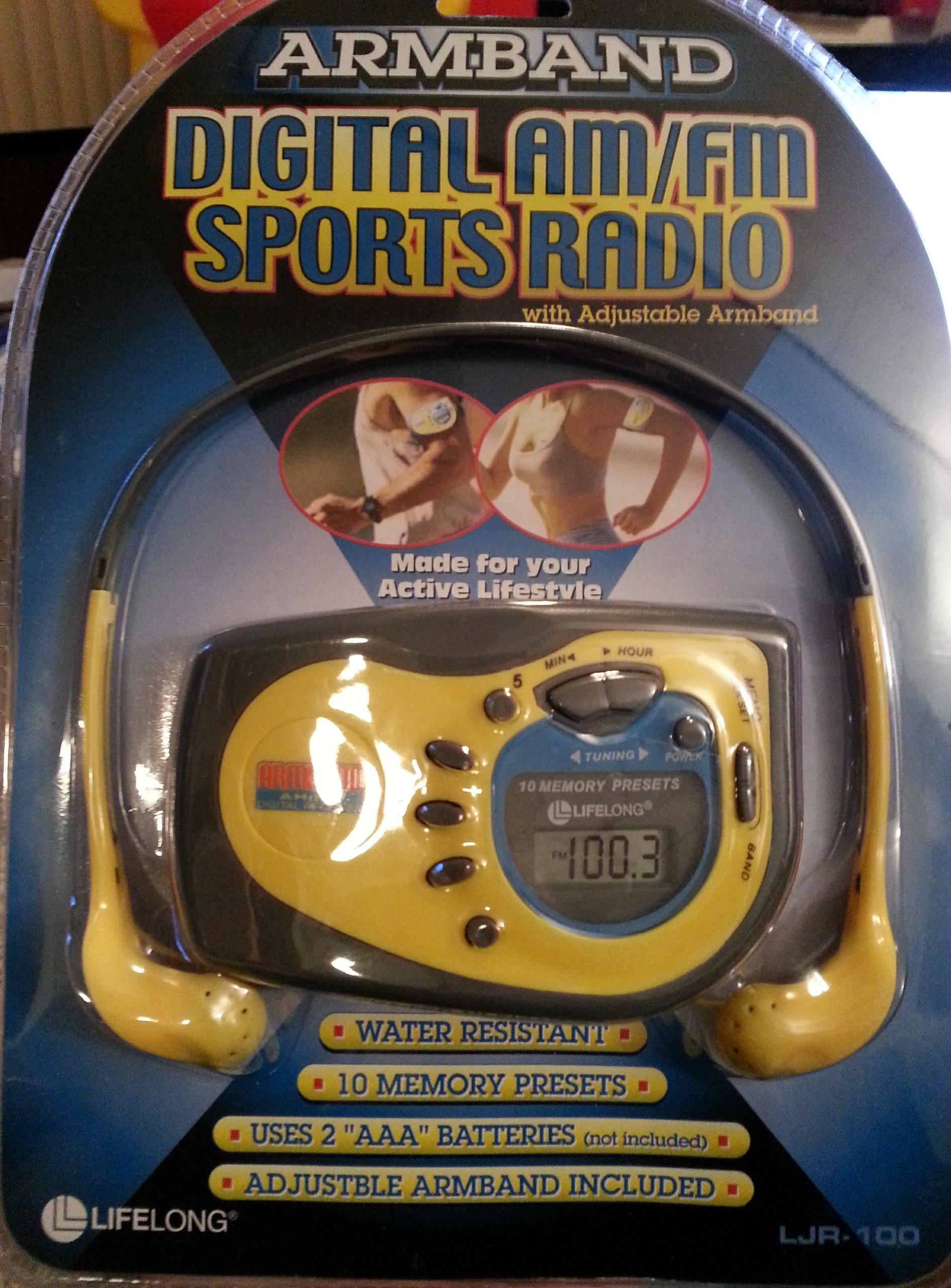 Digital Am/fm Sports Radio