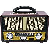 QFX RETRO-90 Retro Collection Bluetooth 3 Band Am/FM/Sw Radio