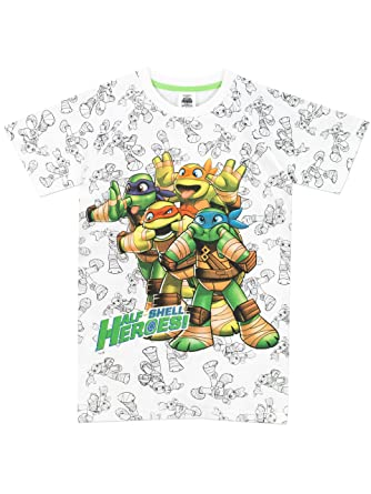 Teenage Mutant Ninja Turtles - Camiseta para niño - Las Tortugas Ninja - 5 - 6 Años