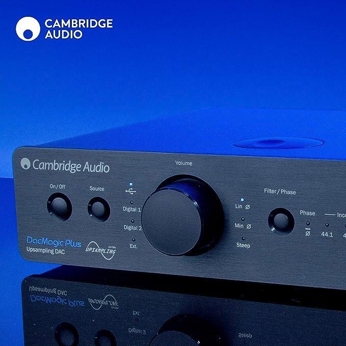 Cambridge Audio Dac MagicPlus - Convertidor de audio, negro: Amazon.es: Electrónica