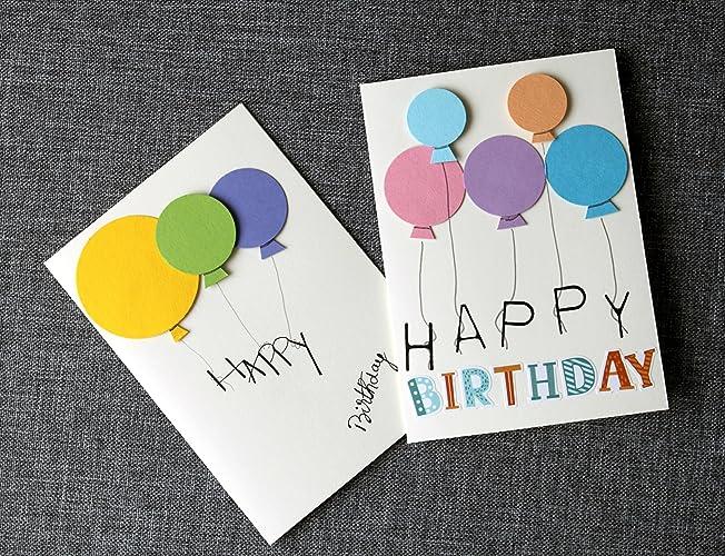Amazon Handmade Birthday Cards 2 Birthday Cards Set Unique