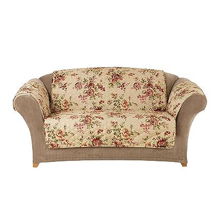 Sure Fit Furniture Friend Pet Throw   Loveseat Slipcover   Lexington Floral  Mul (SF39901)
