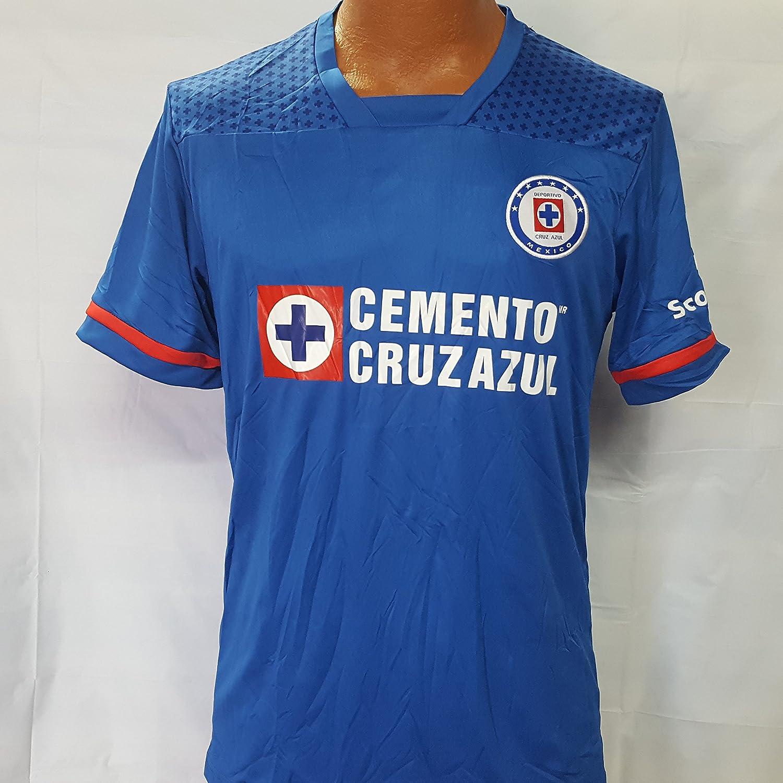 新しい。La maquina de Cruz Azul Genericレプリカジャージー大人用大 B077FZDV5B
