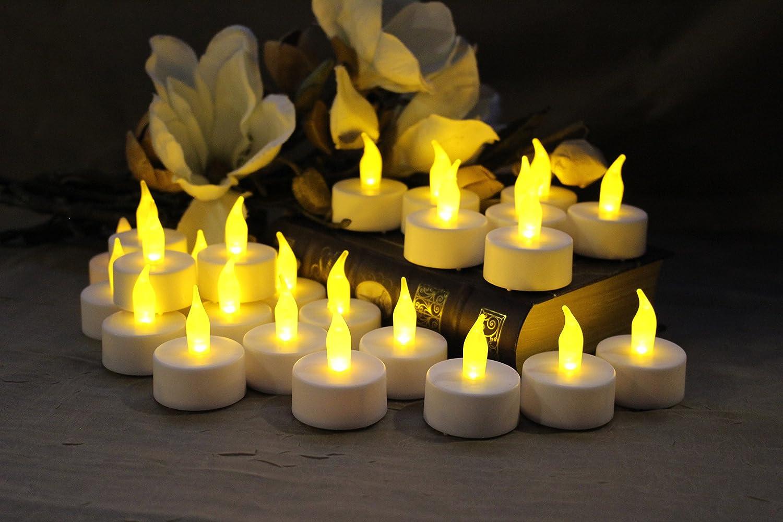 FLAMELESS TEA LIGHT CANDLES by...