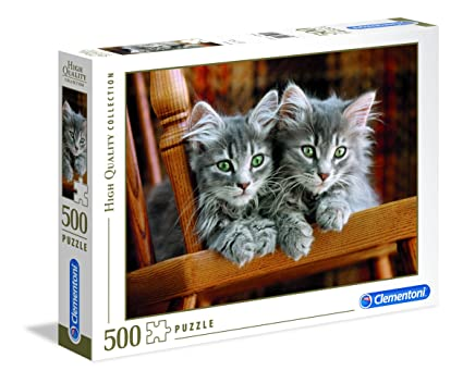 Clementoni Kitten Puzzle (500 Piece)