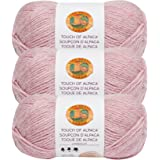 Blush Lion Brand Yarn 124-104 Touch of Alpaca Bonus Bundle Yarn