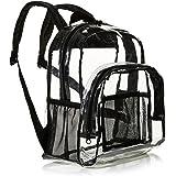Amazon Basics Stadium Approved Mini Transparent Backpack Bag - Clear