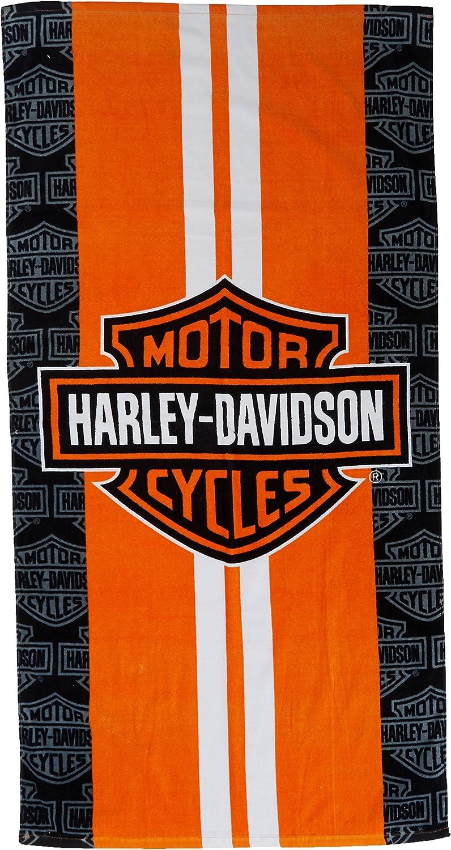"30/""x60/"" Harley Davidson Towel Gray Vibe Classic Beach Pool FULLY LICENSED!!"