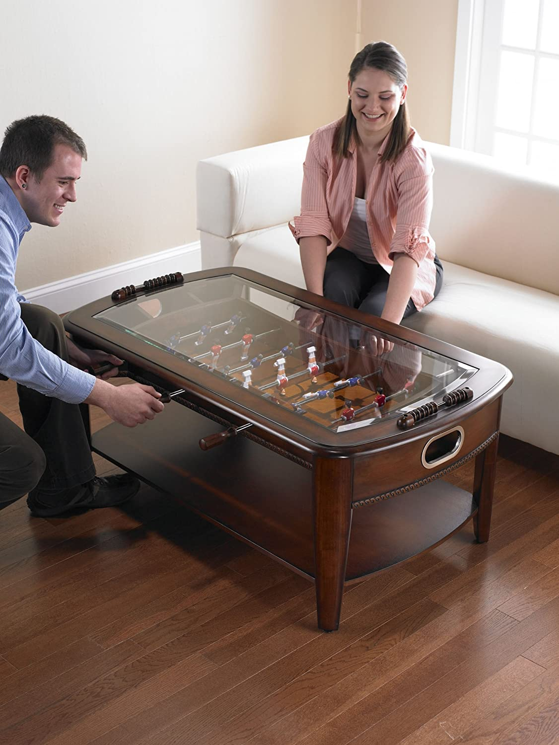 - Amazon.com: Chicago Gaming Signature Foosball Coffee Table: Sports