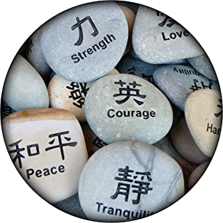 """product image for Next Innovations Motivational Wall Art Strength 16"""" Round"""