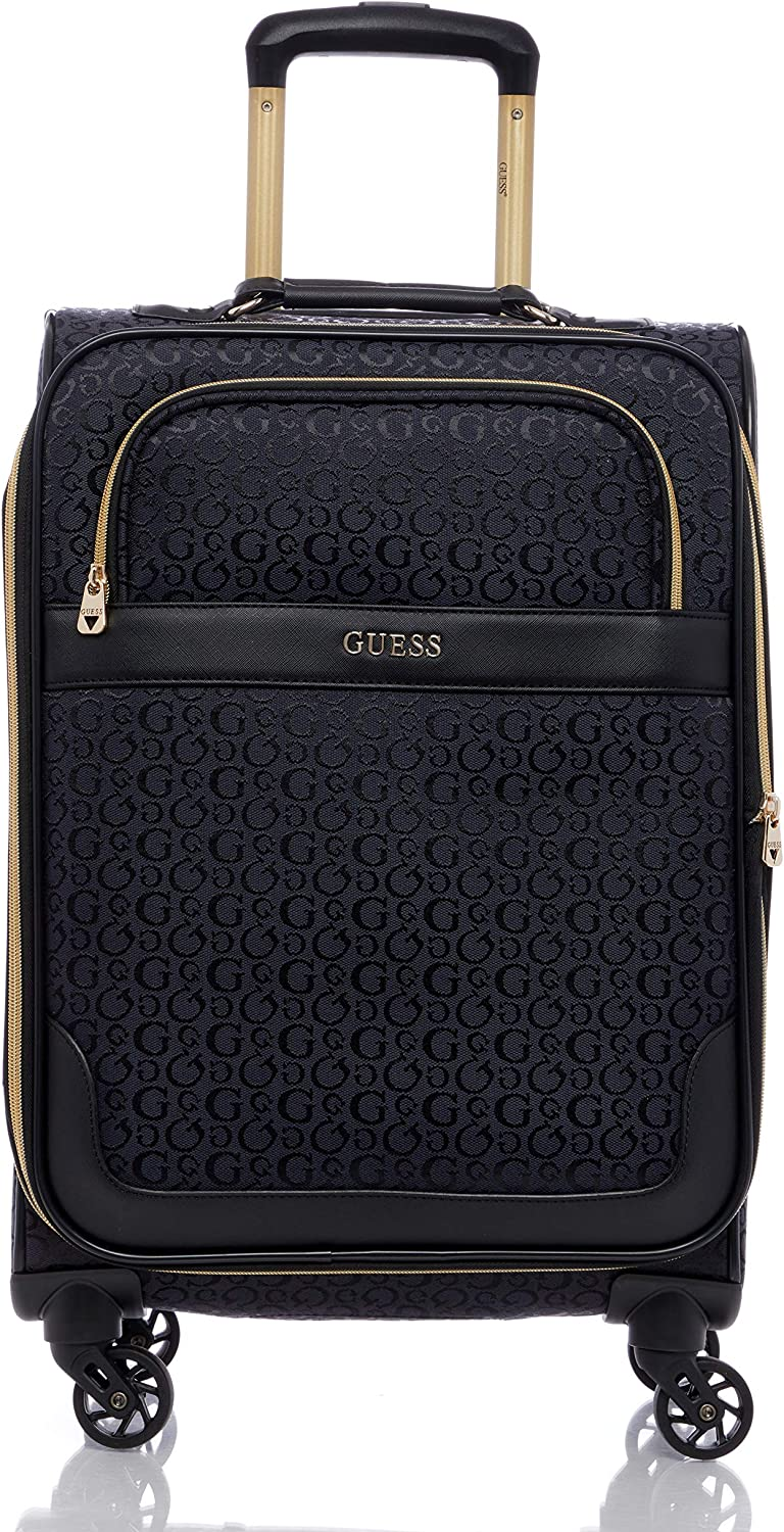 Charcoal Guess Bellarini Collection 20 4-Wheeled Spinner