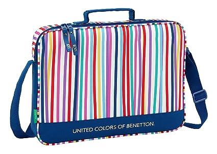 Ucb benetton maletín Cartera extraescolares niña.
