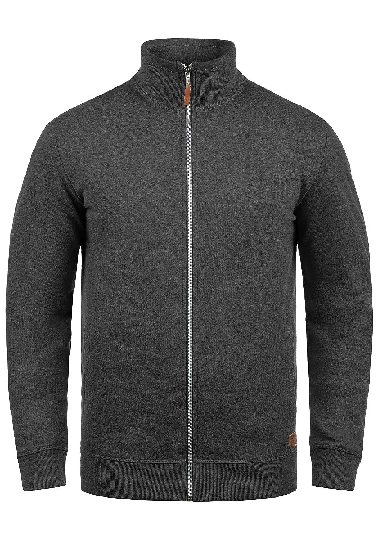 Blend Alio Veste en Sweat Zippé Sweat-Shirt Homme À Capuche Doublure Polaire Fermeture Éclair