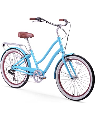 2ef4aa24ef1 sixthreezero EVRYjourney Women's Step-Through Hybrid Cruiser Bicycle  (24-Inch and 26-. #3