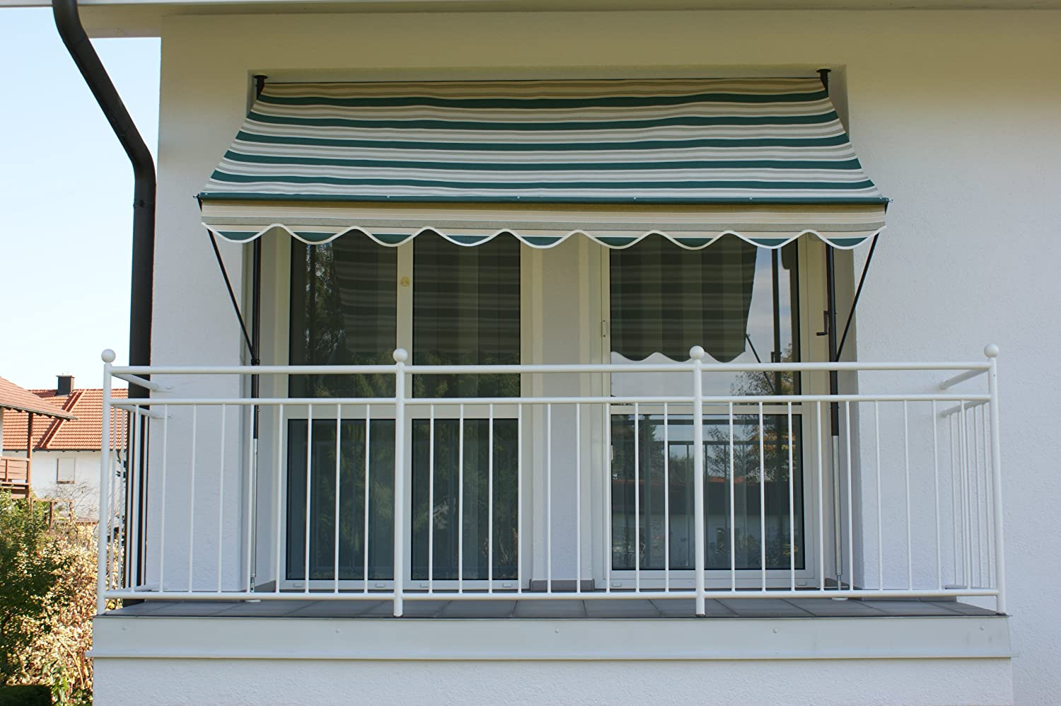Green 250 cm 8700 Angerer Clamp Awning No