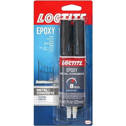 Loctite Metal and Concrete Epoxy Syringe, 25-Millileters (1919325)