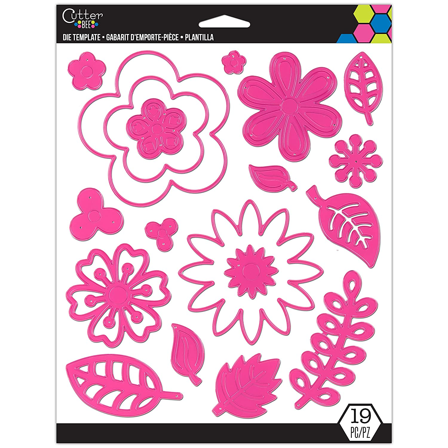 Cutter Bee Die Template - Flowers: Amazon.in: Home & Kitchen