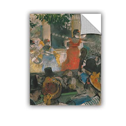 24 x 32 ArtWall Edgar Degass Cafe Concert at Les Ambassadeurs Art Appeelz Removable Wall Art Graphic