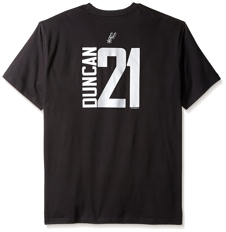 cd7b6f4e Amazon.com : NBA San Antonio Spurs Tim Duncan Men's 2 Side T-Shirt : Sports  & Outdoors