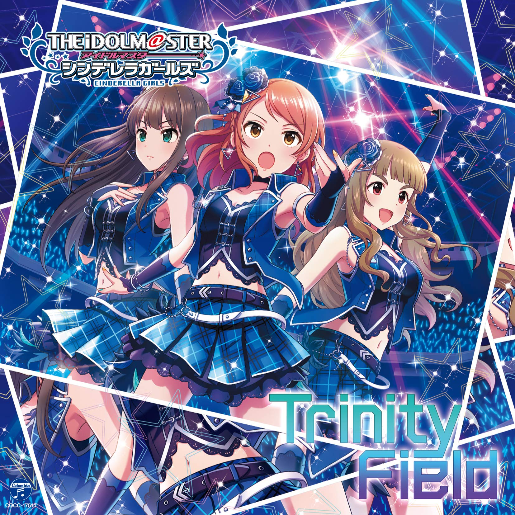 THE IDOLM@STER CINDERELLA GIRLS STARLIGHT MASTER 24 Trinity Field(ジャケ柄ステッカー付)