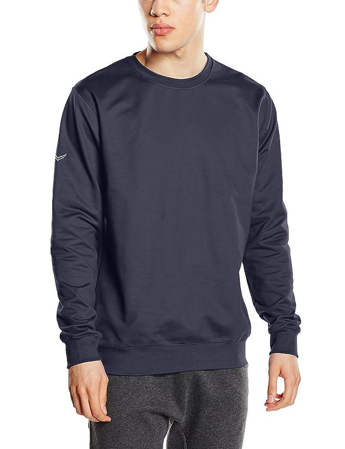 Amazon Felpa Herren Uomo it Trigema Abbigliamento Sweatshirt qpSwZxIa