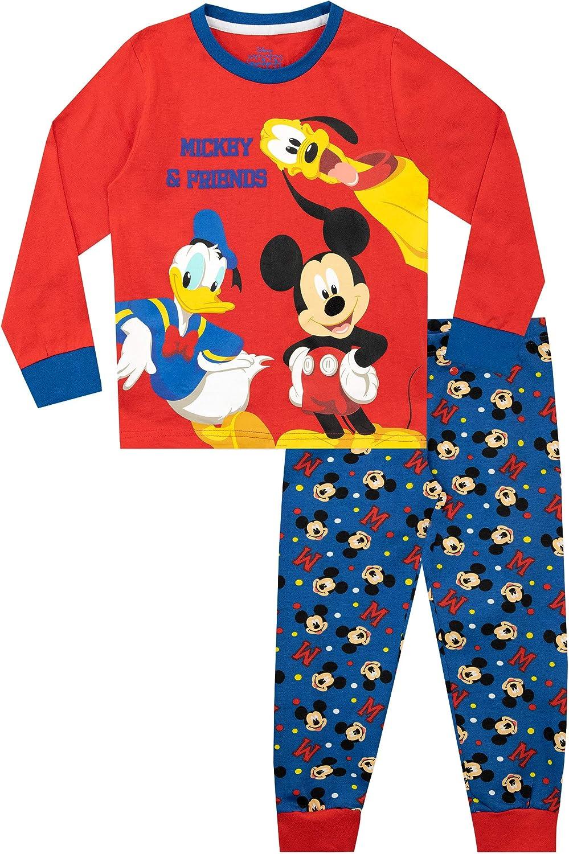 Disney Pijamas para niños Mickey Mouse Donald Duck y Pluto: Amazon.es: Ropa y accesorios