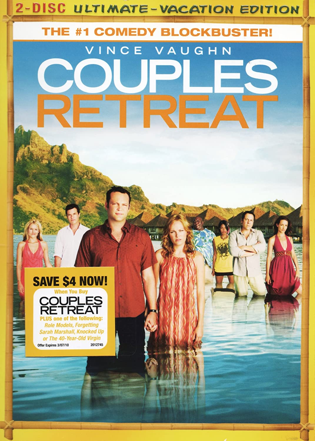 Vince Vaughn And Victoria >> Amazon Com Couples Retreat 2 Disc Ultimate Vacation