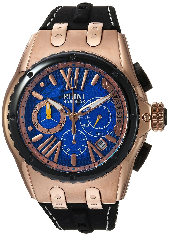 Elini Barokas Herren-Armbanduhr 20008-RG-03-BB