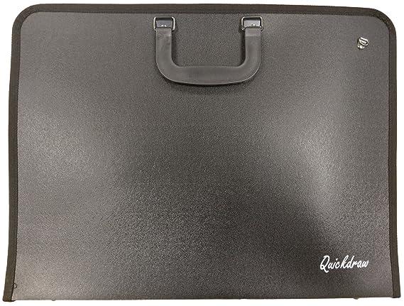 in nylon morbido Valigetta per disegni formato A3 Royal /& Langnickel RFOLIO-46