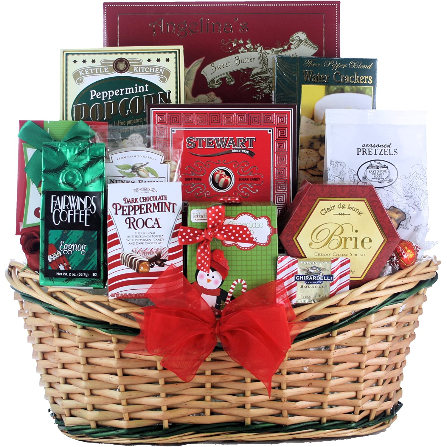 A gluten free gift basket great gift for a special occasion greatarrivals gift baskets tis the season medium gourmet holiday christmas gift basket 272 kg negle Images