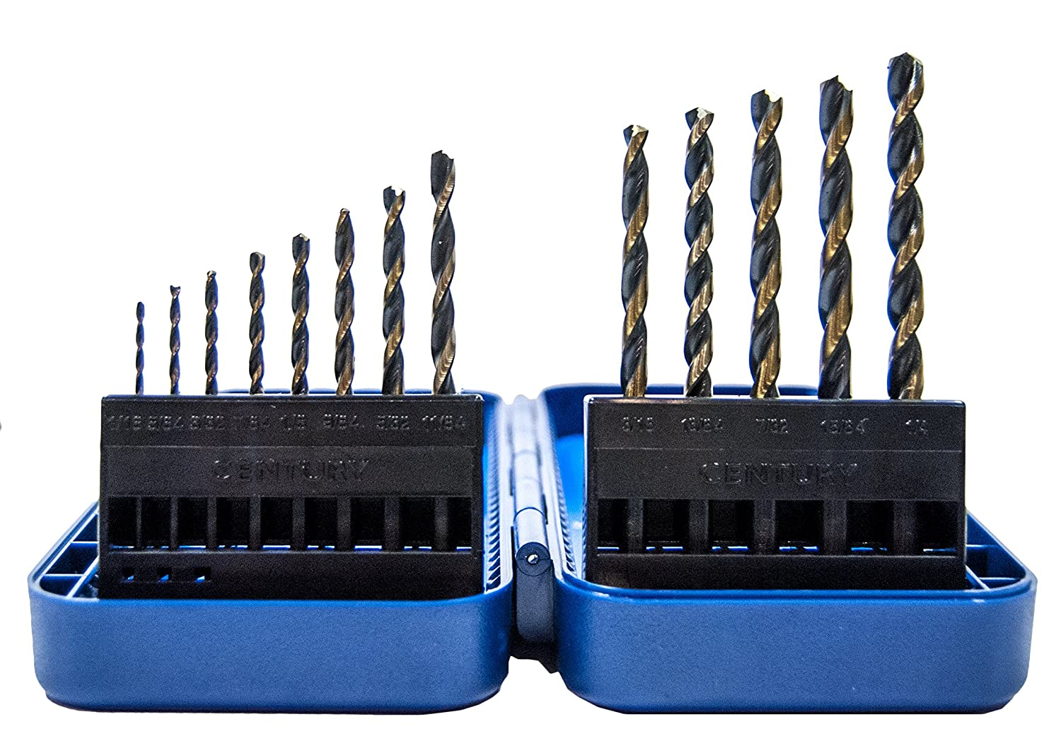 13-Piece Century Drill and Tool 25713 Charger High Speed Steel Drill Bit Set