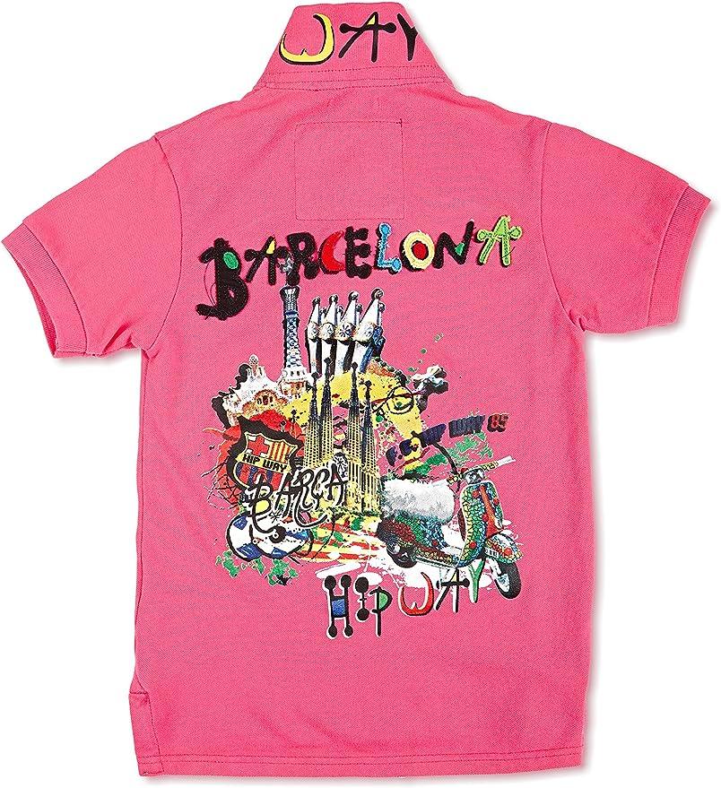 HIP WAY MC Barcelona - Polo para niño: Amazon.es: Ropa y accesorios