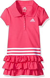 f98bde6c6 Amazon.com: adidas Baby Girls Active Polo Dress: Clothing