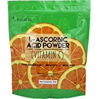Duda Energy asc2 Bag of L-Ascorbic Acid Powder, 2 lb, 99+% Food Grade USP36/BP2012...